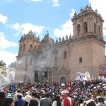 la catedral y la celebracion del Corpus Christi