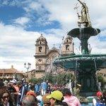 la pileta y el Inca Pachacutec