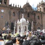 El Badalquino de plata de la catedral del Cusco