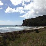Lunch spot on Cape Reinga trip