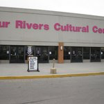 Front of Four Rivers Cultural Center