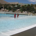 Access to Mandalay wave pool