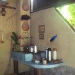 El comedor y su decoración rústica