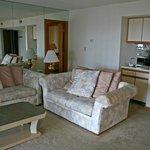 main room in condo