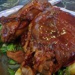 Hunan hot and spicy pork shoulder