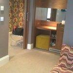 Lounge Area - love love love the sofa!