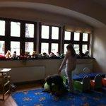 very nice kids playroom.