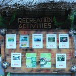 Recreation Activities availabe