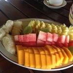 Nur ein kleiner Teil vom wunderbaren Frühstück