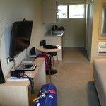 Room/kitchenette view