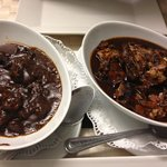Jerk chicken and beef stew