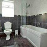 Miller's house bathroom