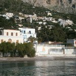 Agelica Apartments,Myrties, Kalymnos - from the sea
