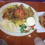 Chicken Shoarma at Mediterranean Cuisine