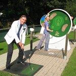MINIGOLF AM KURHAUS Ruhpolding: Jetgolf ist Golf für Jedermann