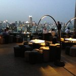 Amazing rooftop bar!