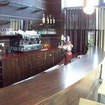 lounge bar in main lobby