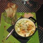 oeufs cocotte aux tomates provençales et fois gras