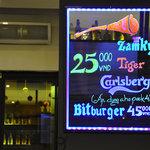 Beers pretty cheap for a bar in Hoan Kiem....