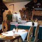 Restaurant mit Steinbackofen