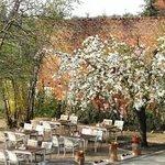 Hofgarten mit Terrasse