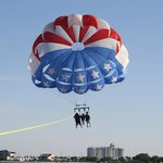 Parasailing at Pensacola Beach