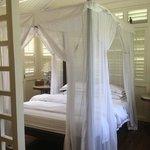 bed in Cinnamon suite