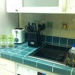 Small kitchen, big on supplies!