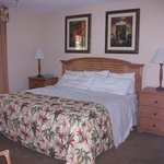 le lit de 1m80 de large