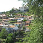 PANORAMIC VIEW OF AGROS VILLAGE