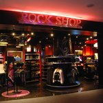Shop selling Hard Rock souvenirs