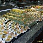 buffet grandiose