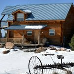 Pioneer Cabin in Winter