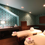 Couple's Massage treatment room in The Shimmer Spa North