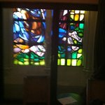 Stained glass window in my room