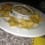 Appatizer. Queso dip with chorizo