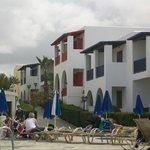 the village effect of Kefalos Beach