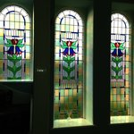 Stained glass at Treventon