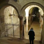 Entering the Crypt.