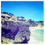 prachtig rustig strand
