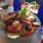 antipasto salad at Gigi's