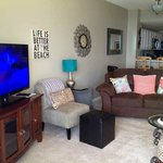 Nice living room of condo - Doral 1104