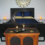 ISIS-Moon-Goddess sub-penthouse suite bed