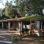 Sala ristorante dall'esterno