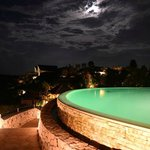 Night shot, Di Mare pool