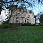 Magnificent grounds at Chateau De Verrieres