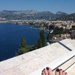 vista desde la terraza del 2 do piso del hotel