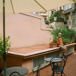 ROMA: Villa della Fonte Guest House Roof Garden