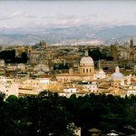 ROMA:  VIEW over Roma fromJaniculum Hill