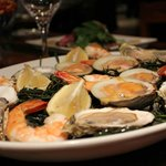 Raw Bar - a specialty of the restaurant